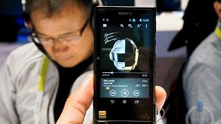 Sony NW-ZX2 Walkman Hi-Res Digital Music Player Hands On