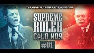 Let's Play Supreme Ruler - Cold War #01 Einführung ins Spiel