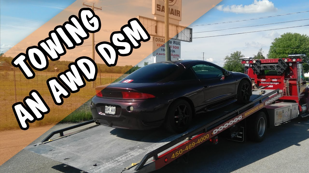 Towing An Awd Dsm From The Front Or On A Dolly Video Response To Esd Member