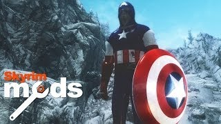Captain America and the Throwable Shield - Top 5 Skyrim Mods of the Week
