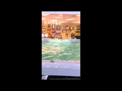 Swim Spa Fun at Ultra Modern Pool & Patio