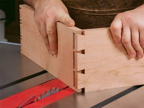 How To Cut Dovetails On A Tablesaw Youtube