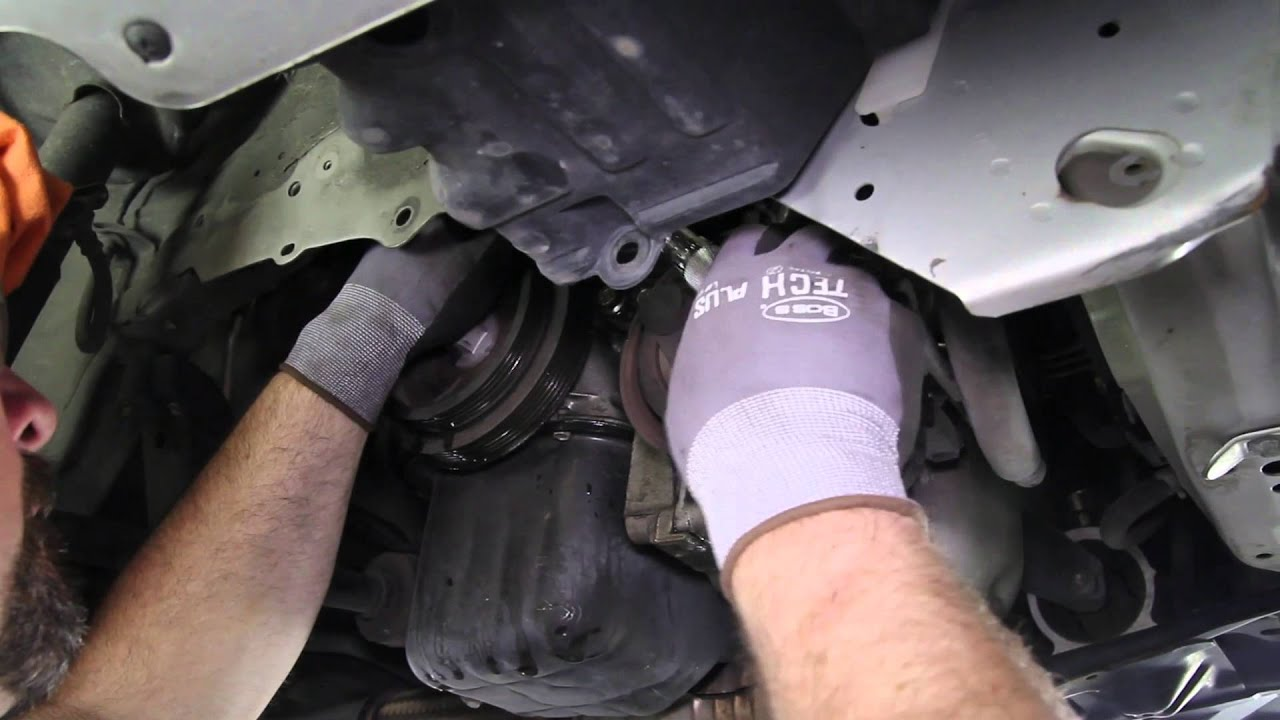 how to install a water pump nissan 1 8l 4 cyl wp 9349 aw9416 youtube [ 1920 x 1080 Pixel ]