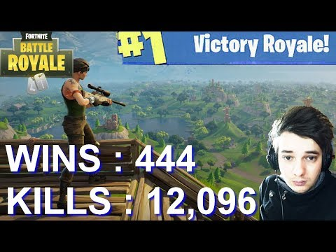 [FR/PC/LIVE] Fortnite en solo 444 wins!