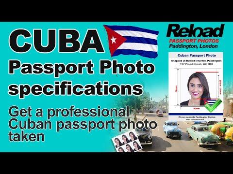 Get Your Cuban Passport Photo And Visa Photo Snapped In Paddington, London