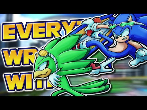 Everything Wrong With Sonic Riders in 7 Minutes
