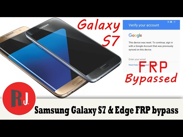 Factory Reset Protection can be bypassed on a Samsung Galaxy