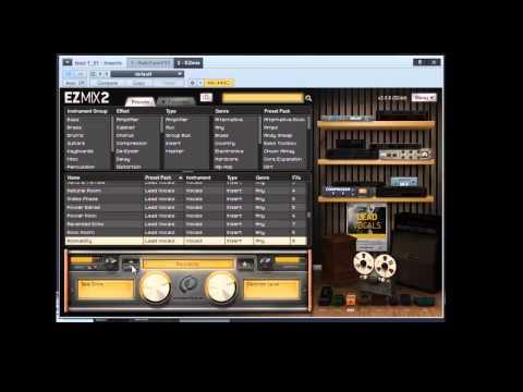 Mix Lead Vocals with EZ Mix 2 - Lead Vocal Pack