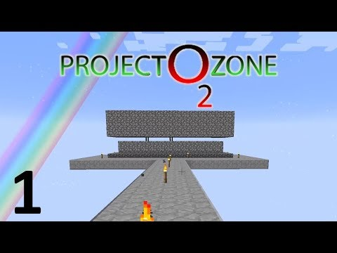 Project Ozone Modpack LIVESTREAM - Patreon Server Part 1 - Growing Wood