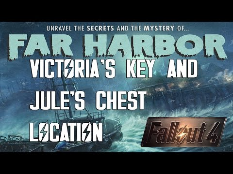 Fallout 4 Far Harbor DLC Victoria's Key and Jule's Chest Location