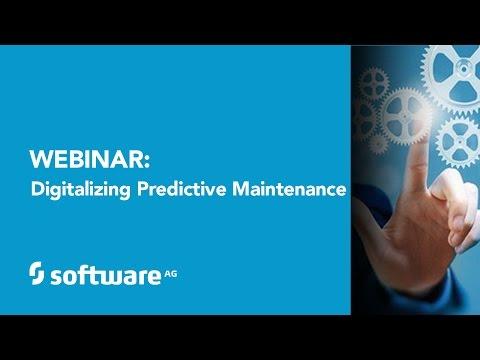 Webinar: Digitalizing Predictive Maintenance featuring Dell, Kepware and Software AG