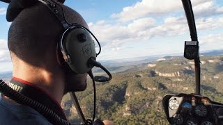 Les gorges de Carnarvon, Queensland: survol en hélicoptère !