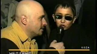 Russian kid at club can