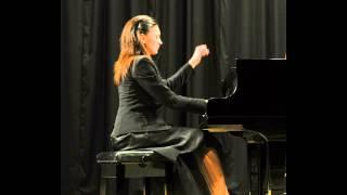 "Robert Schumann - ""INTERMEZZO"" from Carnaval de Vienne op.26 - Tatiana Primak Khoury ( piano)"