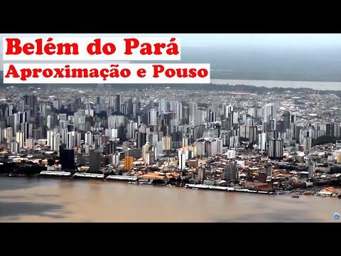 Aterrissagem em Belém do Pará (BEL) - Azul Airlines - Embraer EMB 195