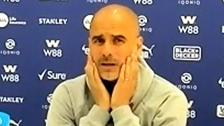 Crystal Palace 0-2 Man City - Pep Guardiola - Post-Match Press Conference - Part 1/2