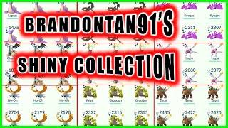 BRANDONTAN91'S SHINY POKEMON COLLECTION - Pokemon GO