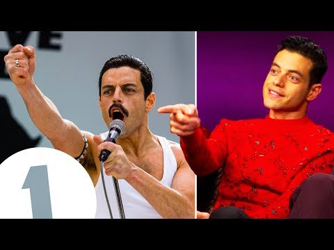 """We hurled abuse at each other!"" Bohemian Rhapsody's Rami Malek on duelling with Mike Myers."