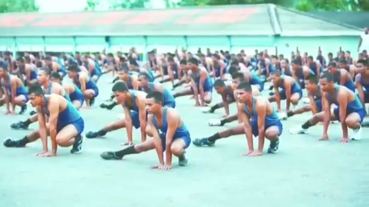 Indian navy physical training