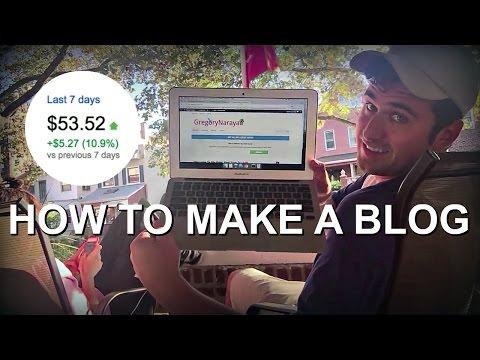 How To Make a WordPress Blog - 2017