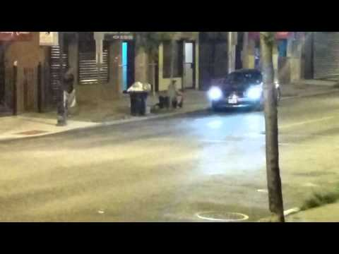 Girl beats down a dude in jersey city heights