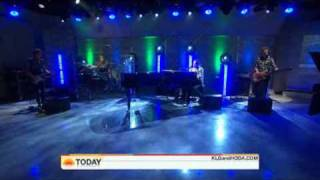 Five For Fighting - Chances - Live Today Show 10/16/2009
