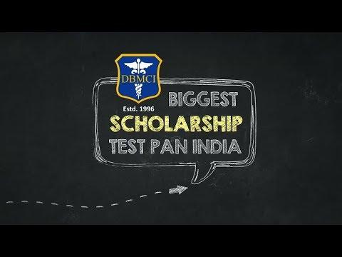 India's Biggest #Scholarship Test| PG Aspirants|DBMCI| Medical Entrance Exams