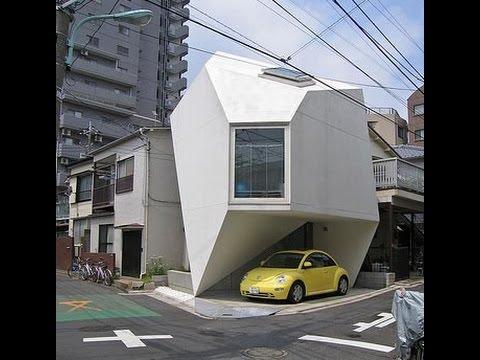 En Japon Se Construyo La MANSION Mas Pequeña Del Mundo increible no podras creer