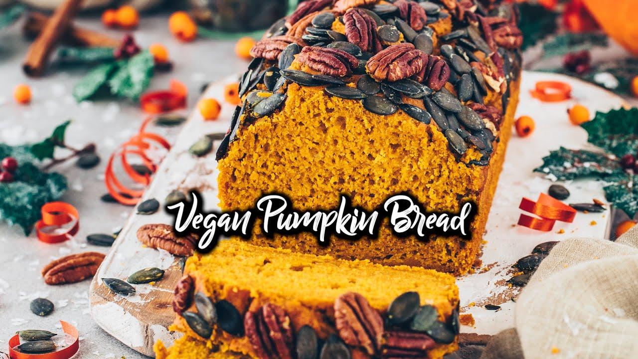 Best Vegan Pumpkin Bread * Recipe