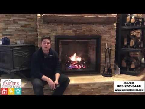 Mendota Gas Fireplace