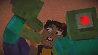 Minecraft Story Mode - All Deaths and Kills Episode 7 60FPS HD