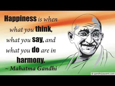 Gandhi English Quotes : Gandhi English Sayings