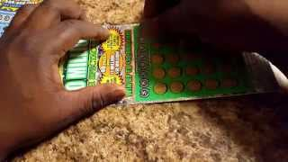 Cash Spectacular and MAX Money Georgia Lottery Scratch off Tickets
