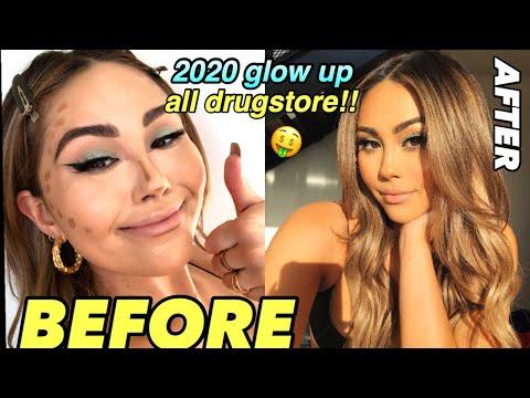 2020 Glow Up using EVERYTHING under $20 | Drugstore Makeup Tutorial | Roxette Arisa