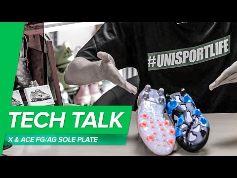 adidas X15 and ACE15 FGAG sole plate Tech Talk worn by