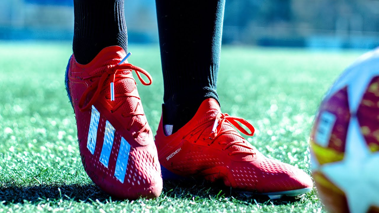 Mo Salah Schuhtest - Adidas X18.1