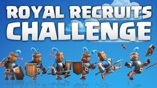 Video ROYAL RECRUITS CHALLENGE! 12 wins ay | Clash Royale 🍞 download MP3, 3GP, MP4, WEBM, AVI, FLV Juli 2018