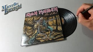 Epic Iron Maiden LP - 3D Drawing