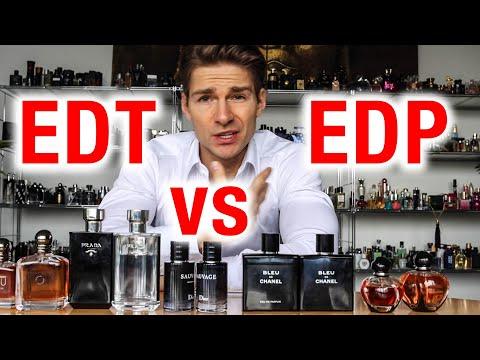 Eau de Toilette vs Eau de Parfum