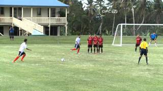 OFC CHAMPIONS LEAGUE PRELIMINARY 2014 | FC SKBC vs PUAIKURA FC HIGHLIGHTS