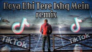 Roya Bhi Tere ishq main | Tik tok Famous | Full audio song | Remix By | DJ RAHUL S.R.I | DIU INDIA |