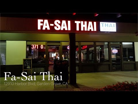 Fa-Sai Thai - Authentic Khao Soi and Pra Ka Pow in So Cal