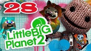 ч.28 Прохождение Little Big Planet 2 - Стальной кролик