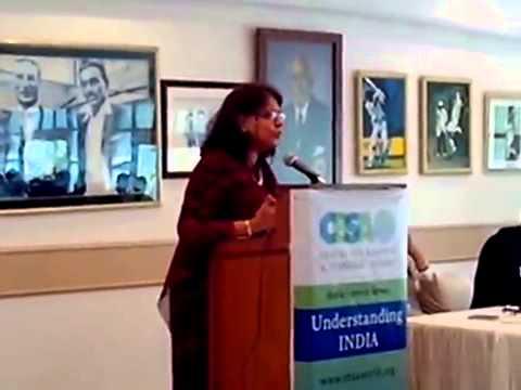 Prof  Poonam Kumar Keynote Speech at CBSA Event