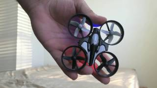 REALACC JJRC H36 Mini Quadcopter Drone Unboxing Flight Test Calibrating Review