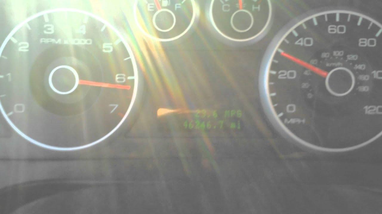 2007 Ford Fusion 2 3L 0 60