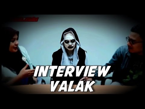 INTERVIEW VALAK THE CONJURING 2 USE INDONESIAN LANGUAGE