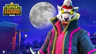 DRIFT BECOMES THE WHITE WEREWOLF!!! - Fortnite Short Film