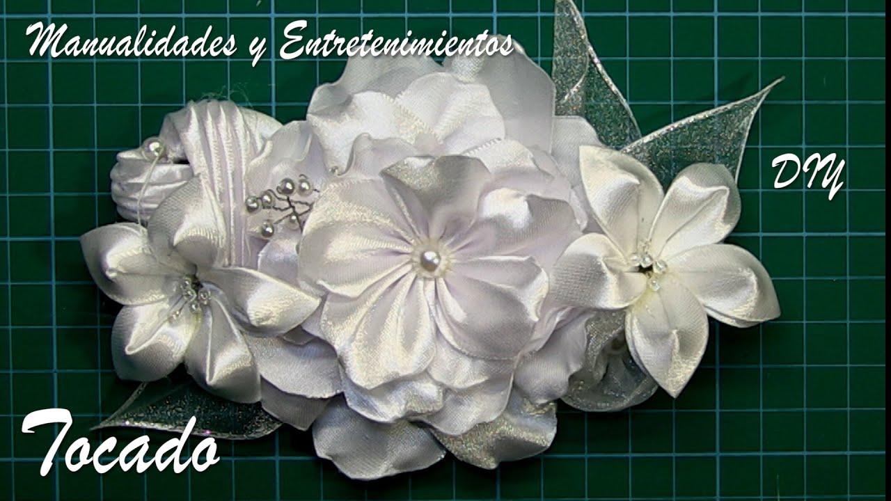 DIY - Tocado- 2 Broche, tiara, diadema- Touched- 2 Brooch, tiara, diadem
