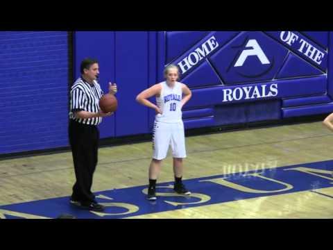 Assumption Girls Basketball vs Columbus 11-27-15 Cranberry Classic